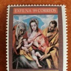 Sellos: ESPAÑA SH. 3012 MNH**EXFILNA 89'(FOTOGRAFÍA ESTÁNDAR). Lote 219298656