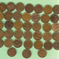 Sellos: BELGIE/BELGIQUE. 38 MONEDAS DE 50 CENT DIFERENTES. Lote 219301406