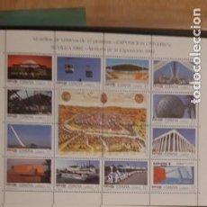 Sellos: 24 VALORES ** EXPOSICIÓN UNIVERSAL SEVILLA, EXPO 92, ** NUEVOS. Lote 219360553