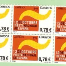 Sellos: 10 SELLOS 2008, SELLOS DE 0,78 EUROS. 12 OCTUBRE FIESTA NACIONAL 30% DESCUENTO. Lote 219440178