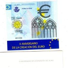 Sellos: PRUEBA DE ARTISTA Nº98 EL EURO. Lote 219524782
