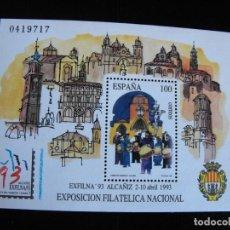 Sellos: ESPAÑA.HOJA BLOQUE SH3249 EDIFIL. EXFILMA´93. 1993.. Lote 219574765