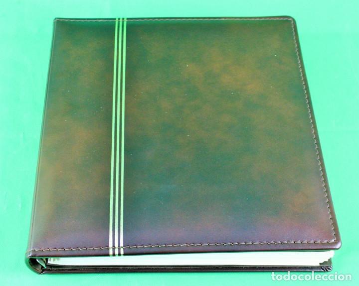Sellos: Colección de España,bloques de 4,en 5 álbumes Creafil,filoestuches negros sobre hojas Filabo,1980-19 - Foto 2 - 219771230