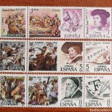 Sellos: ESPAÑA, N°2460/68 MNH, CENTENARIOS 1978 (FOTOGRAFÍA REAL). Lote 220062180