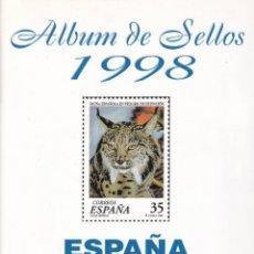 Sellos: SELLOS ESPAÑA OFERTA AÑO 1998 MNH NUEVOS MONTADO EN HOJAS FILABO. Lote 220401013
