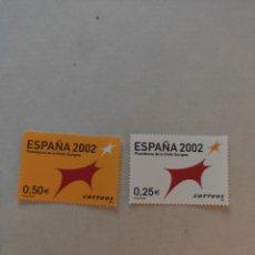 Sellos: SELLOS ESPAÑA 2002 PRESIDENCIA DE LA UNIÓN EUROPEA. Lote 220412885