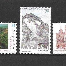 Sellos: ESPAÑA, 2000, PATRIMONIO DE LA HUMANIDAD, EDIFIL 3729-3281. Lote 261140740
