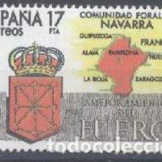 Sellos: ESPAÑA - AÑO 1984 - EDIFIL 2740 - ESTATUTO DE NAVARRA - USADO. Lote 293888048