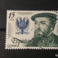 Sellos: SELLO USADO. REYES DE ESPAÑA. CASA DE AUSTRIA. CARLOS I (1500-1558) NOVIEMBRE 1979. EDIFIL 2552.. Lote 94978819