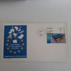 Sellos: 1989 ESPAÑA PARLAMENTO EUROPEO SOBRE A 756 MATASELLO FILATELIA COLISEVM. Lote 220739537