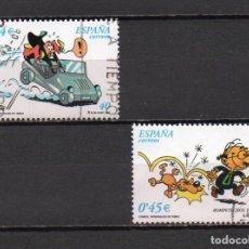 Sellos: SERIE COMPLETA USADA DE ESPAÑA -COMICS-, AÑO 2001, EN BUEN ESTADO. Lote 220864586