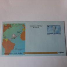 Sellos: 1997 ESPAÑA AEROGRAMAS EDIFIL 222 GLOBOS CIUDAD HUELVA FILATELIA COLISEVM. Lote 220916356
