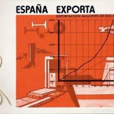 Sellos: ALBUM 5 SELLOS - EMISIÓN ESPECIAL DE SELLOS DE CORREO FNMT - ESPAÑA EXPORTA (1980) - FOTOS ADIC. Lote 220923260