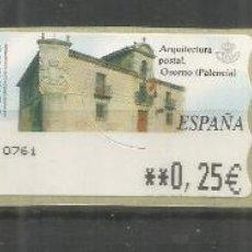 Francobolli: ESPAÑA SPAIN ATM ARQUITECTURA POSTAL OSORNO PALENCIA. Lote 220933887
