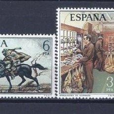 Sellos: EDIFIL 2329-2332 SERVICIOS DE CORREOS 1976 (SERIE COMPLETA). MNH **. Lote 220996878
