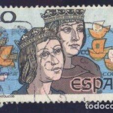 Sellos: S-5919- ESPAÑA 1987. V CENTENARIO DEL DESCUBRIMIENTO DE AMÉRICA. REYES CATÓLICOS.. Lote 221385327