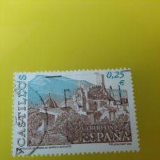 Sellos: EDIFIL 3889 AÑO 2002 CASTILLO BANERES DE MIRIOLA ALICANTE USADO FILATELIA COLISEVM LUGO. Lote 221448781