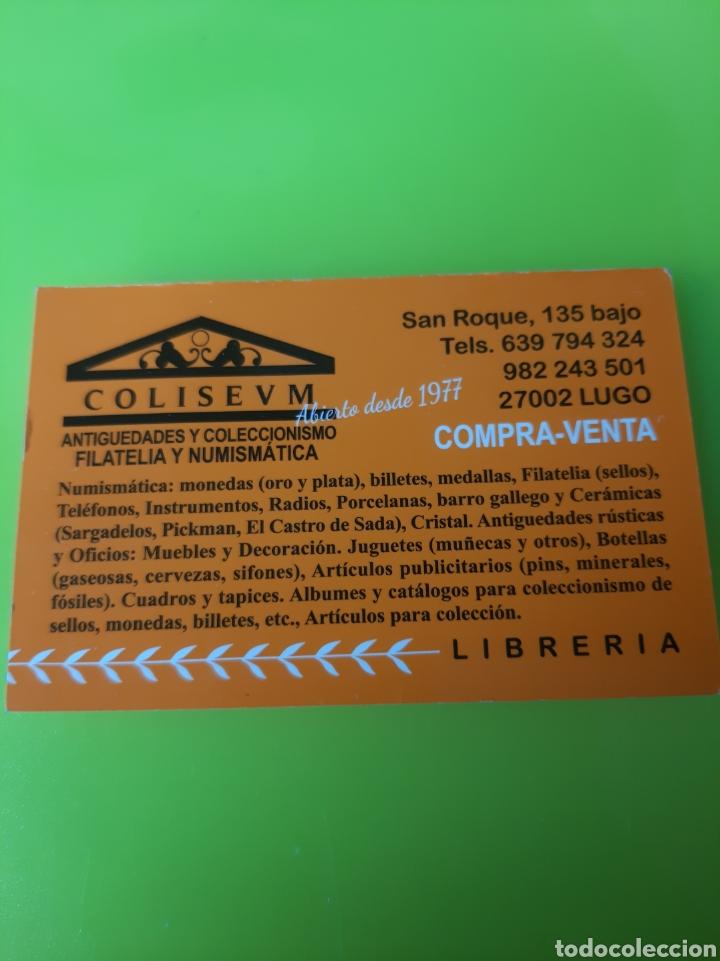 Sellos: EDIFIL 3776 ESPAÑA 2001 AGENTES COMERCIALES SELLO 40 PESETAS FILATELIA COLISEVM - Foto 2 - 221450805