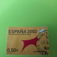 Sellos: MATASELLO BARCELONA PRESIDENCIA COMUNICAD EUROPEA EDIFIL 3866 USADO FILATELIA COLISEVM LUGO. Lote 221461651