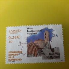 Sellos: EDIFIL 3852 ESPAÑA 2001 IBIZA PATRIMONIO MUNDIAL HUMANIDAD. Lote 221462700