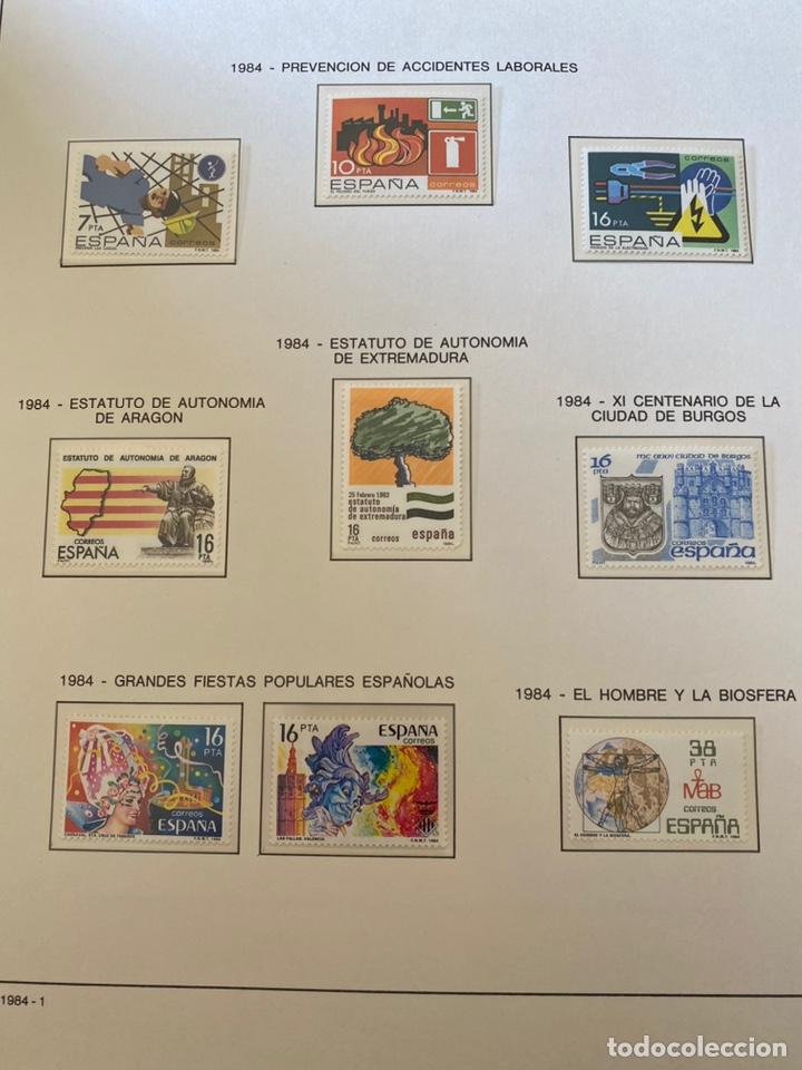 Sellos: Álbum de sellos 1984 a 1989 Juan Carlos I - Foto 2 - 221472060