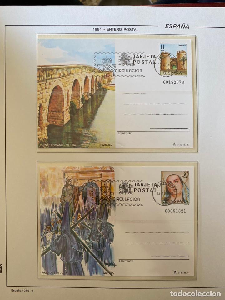 Sellos: Álbum de sellos 1984 a 1989 Juan Carlos I - Foto 3 - 221472060