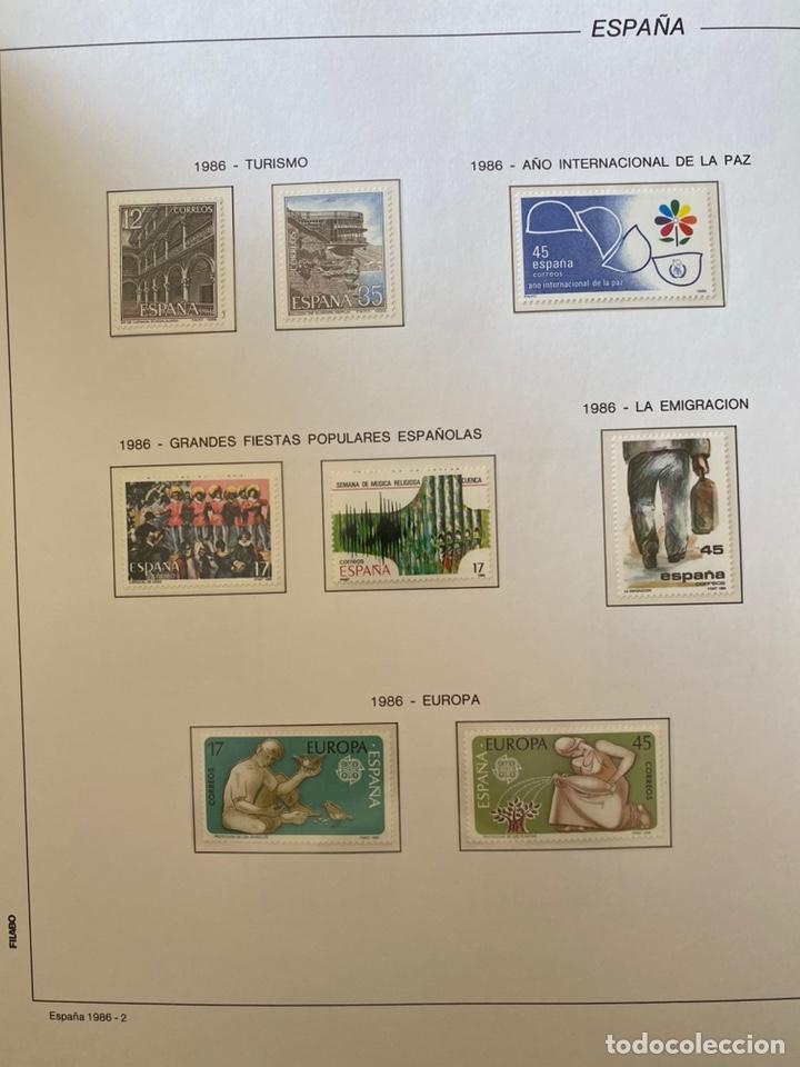 Sellos: Álbum de sellos 1984 a 1989 Juan Carlos I - Foto 5 - 221472060