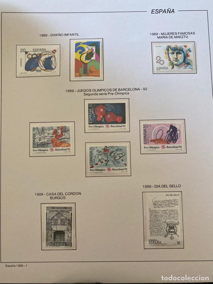 Sellos: Álbum de sellos 1984 a 1989 Juan Carlos I - Foto 8 - 221472060