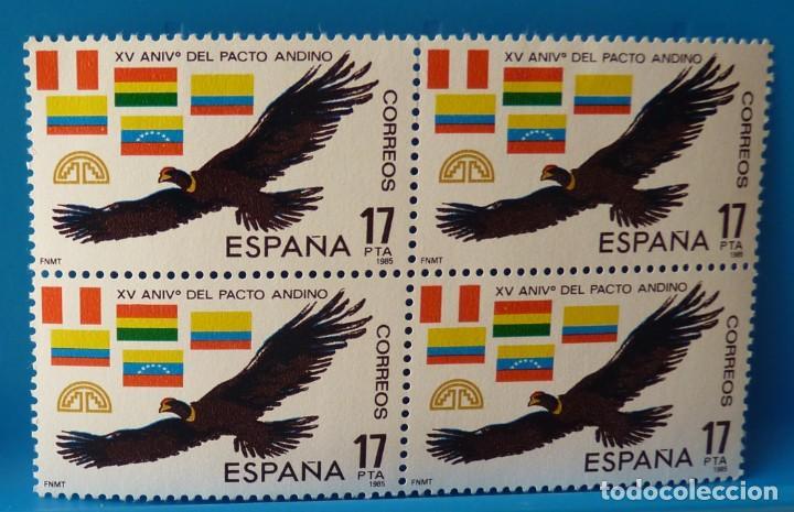 ESPAÑA 1985 EDIFIL NUM. 2778 *MNH* BLOQUE DE 4 (Sellos - España - Juan Carlos I - Desde 1.975 a 1.985 - Nuevos)