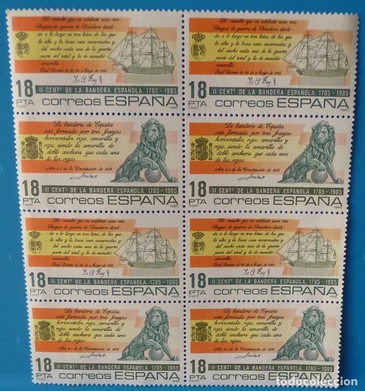 ESPAÑA 1985 EDIFIL 2791/92 *MNH* BLOQUE DE 4 (Sellos - España - Juan Carlos I - Desde 1.975 a 1.985 - Nuevos)
