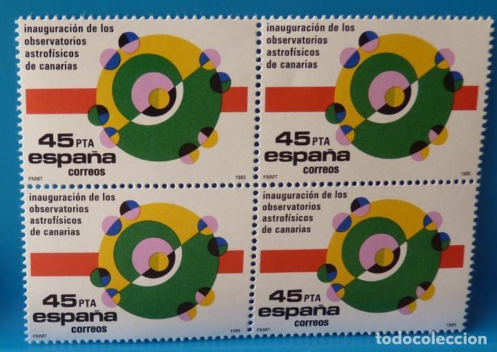 ESPAÑA 1985 EDIFIL 2802 *MNH* BLOQUE DE 4 (Sellos - España - Juan Carlos I - Desde 1.975 a 1.985 - Nuevos)