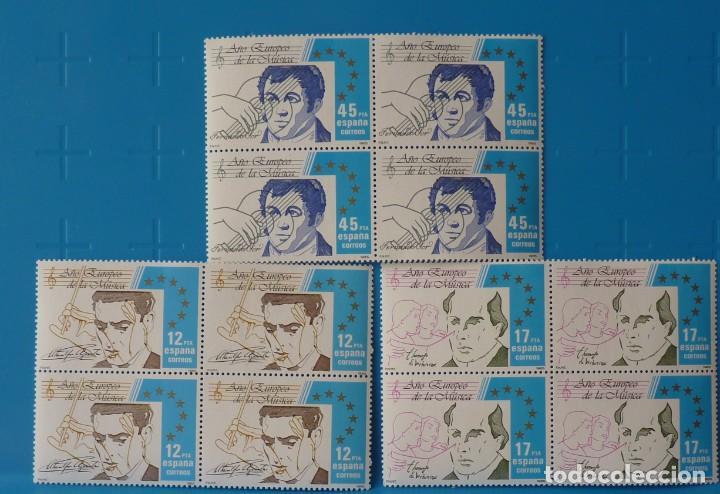 ESPAÑA 1985 EDIFIL NUM. 2803/5 *MNH* BLOQUE DE 4 (Sellos - España - Juan Carlos I - Desde 1.975 a 1.985 - Nuevos)