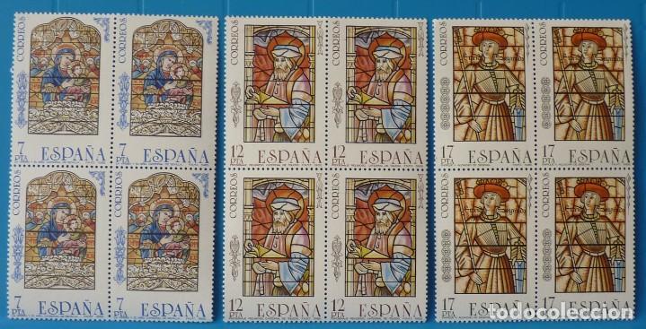 ESPAÑA 1985 - EDIFIL 2815/2817 (*MNH*) EN BLOQUE DE 4 (Sellos - España - Juan Carlos I - Desde 1.975 a 1.985 - Nuevos)