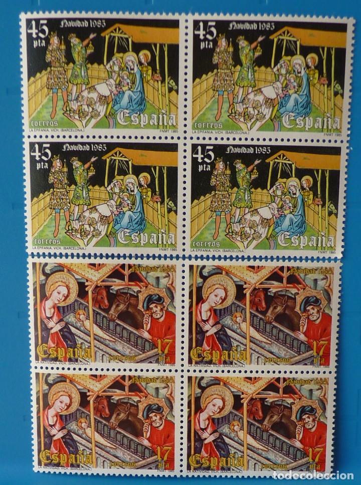 ESPAÑA 1985 - EDIFIL 2818/2819 *MNH* BLOQUE DE 4 (Sellos - España - Juan Carlos I - Desde 1.975 a 1.985 - Nuevos)