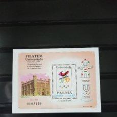 Sellos: ESPAÑA. 1999. NÚMERACIÓN EDIFIL 3648. FILATEM-UNIVERSIADA PALMA 1999. Lote 221600073