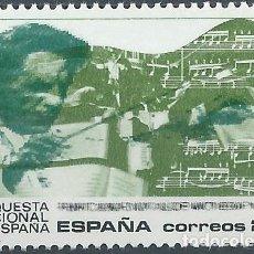 Sellos: 1990. ESPAÑA. EDIFIL 3098**MNH. ORQUESTA NACIONAL DE ESPAÑA. MÚSICA/MUSIC.. Lote 221616240