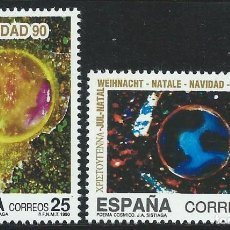 Sellos: 1990. ESPAÑA. EDIFIL 3084/5**MNH. NAVIDAD.. Lote 221616556