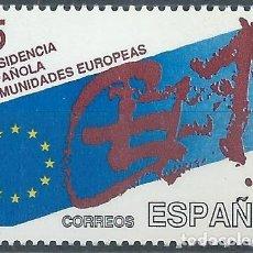 Sellos: 1989. ESPAÑA. EDIFIL 3010**MNH. PRESIDENCIA ESPAÑOLA COMUNIDADES EUROPEAS.. Lote 221618680