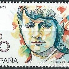 Sellos: 1989. ESPAÑA. EDIFIL 2989**MNH. MARÍA DE MAEZTU. PEDAGOGA Y HUMANISTA.. Lote 221621750