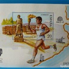 Sellos: ESPAÑA 1987 EXFILNA´87 EDIFIL NUM. 2918 *MNH*. Lote 221702860