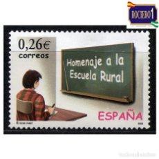 Sellos: ESPAÑA 2003. EDIFIL 3978. HOMENAJE A LA ESCUELA RURAL. USADO. Lote 221725673