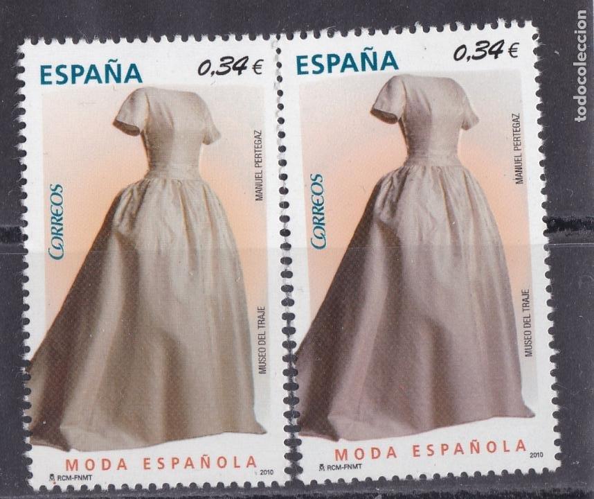 JJ5-MODA ESPAÑOLA VARIEDAD ** SIN FIJASELLOS (Sellos - España - Juan Carlos I - Desde 2.000 - Nuevos)