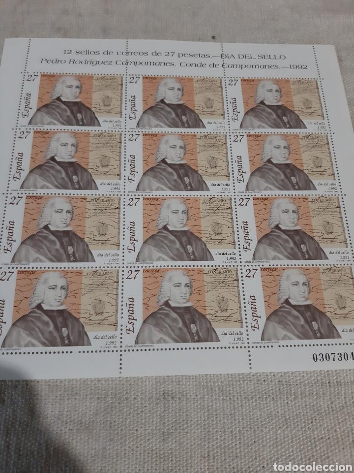 1982 3154 EDIFIL MINI PLIEGO 39 12 SERIES DÍA SELLO ESPAÑA FILATELIA COLISEVM (Sellos - España - Juan Carlos I - Desde 1.986 a 1.999 - Nuevos)
