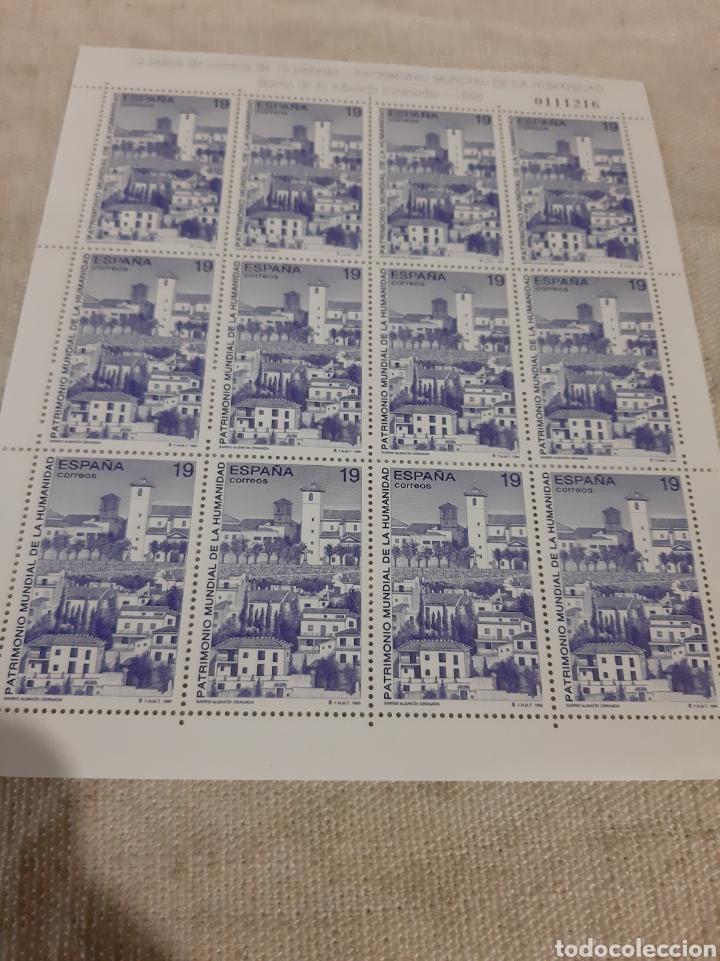 Sellos: 1996 ESPAÑA MINI PLIEGO EDIFIL 3453/56 MP 51 / 53 PATRIMONIO CORDOBA/GRANADA/ HUELVA/ FAUNA - Foto 4 - 221861893