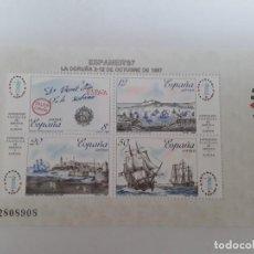 Sellos: ESPAÑA AÑO 1987 H.B. Nº 2916 NUEVO. Lote 221873891