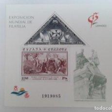 Sellos: ESPAÑA AÑO 1992 H.B. Nº 3195 NUEVO. Lote 221874135