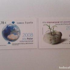 Sellos: ESPAÑA AÑO 2008 Nº 4387/8 SERIE NUEVA. Lote 221874787