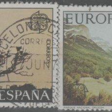 Sellos: LOTE (10) SELLOS ESPAÑA SERIE COMPLETA. Lote 243895300