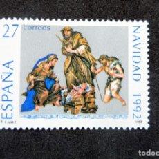 Sellos: ESPAÑA - 1992 - EDIFIL 3227 /**/ - NAVIDAD - PRECIO FACIAL. Lote 222034515