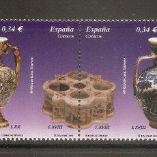 Sellos: ESPAÑA 2010. CERAMICA ESPAÑOLA. EDIFIL Nº 4543-46. Lote 222039596